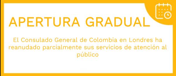 El Consulado General de Colombia en Londres actualiza el Protocolo de Atención al Público para trámites consulares