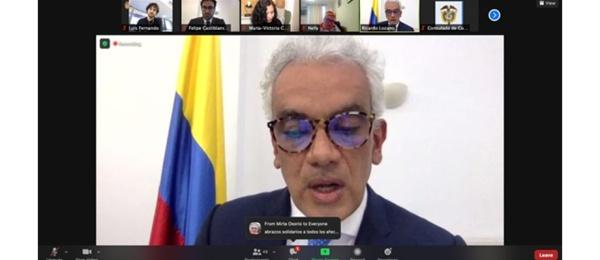 Con un sentido homenaje el Consulado de Colombia en Londres conmemoró el Día Nacional a la Memoria y Solidaridad