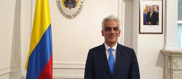 El Consulado General de Colombia en Londres realizó el acto protocolario de posesión dell nuevo Cónsul Ricardo Lozano