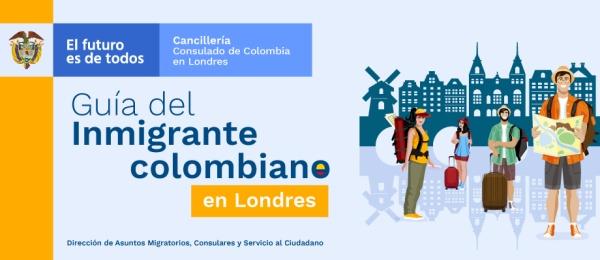 Guía del inmigrante colombiano en Londres