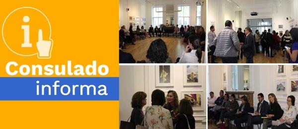 Cónsul General realizó primer Encuentro Consular Comunitario con la comunidad colombiana en Londres